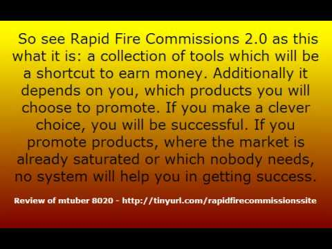 Video: Rapid Fire Commissions 2.0 Review – Full Members Area Walkthrough