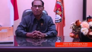BAWASLU SULAWESI TENGAH - SAMBUTAN PILKADA SERENTAK 2015