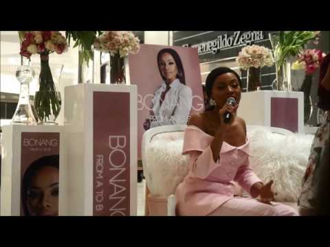 Bonang From A to B Book Launch | Cooosh