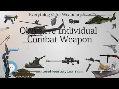 Objective Individual Combat Weapon (Everything WEAPONRY & MORE)💬⚔️🏹📡🤺🌎😜✅