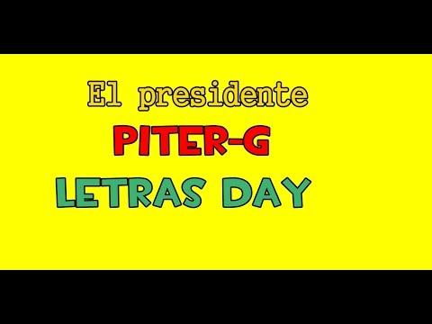 Letra de El Presidente - Piter G