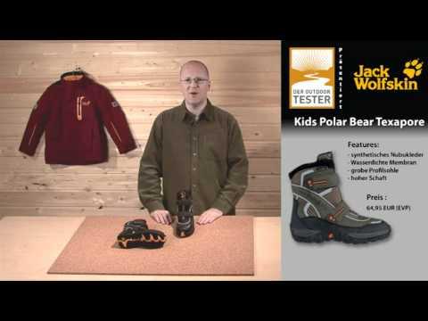 Test Jack Wolfskin Winterstiefel Kids Polar Bear