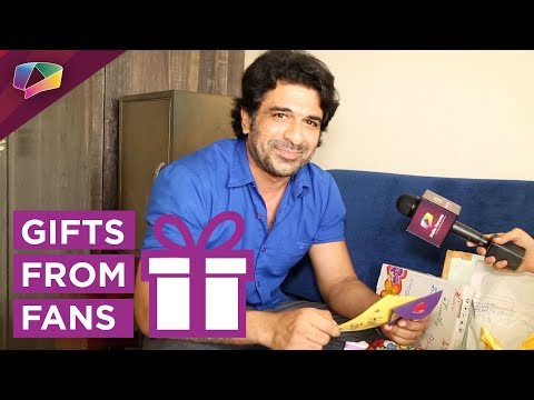 Eijaz Khan Receives Gifts From His Fans | Gift Seg