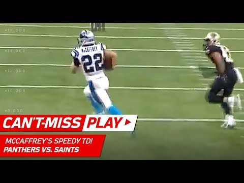 Video: Christian McCaffrey Outruns Everyone for the TD! | Can't-Miss Play | NFL Wild Card Highlights