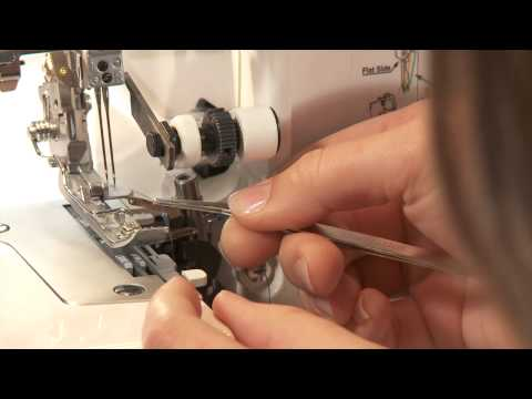 How To Thread Your Serger: Sewing a 4-Thread Overlock | Craftsy Sewing Tutorial