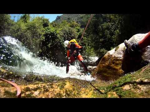 Descenso de cañones en Sierra de las Nieves