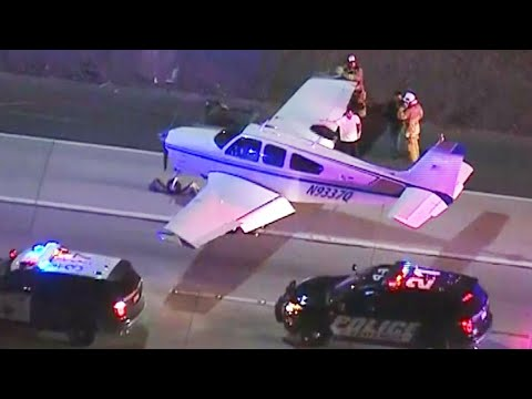 Pilot's Emergency Landing on Highway: 'Definitely a Miracle'