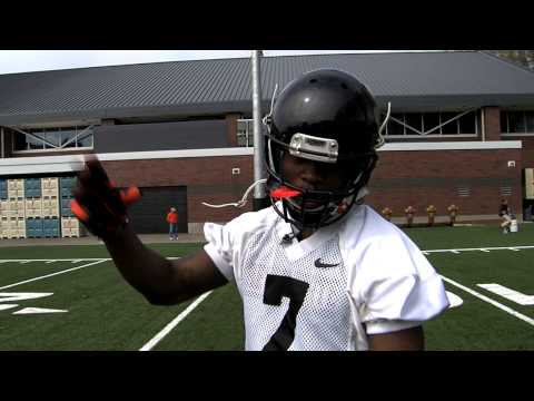 Cooks mic'd up Spring 2013 video.