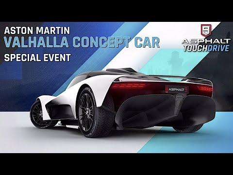 ASTON MARTIN VALHALLA CONCEPT CAR SPECIAL EVENT!!! | A9 LEGENDS