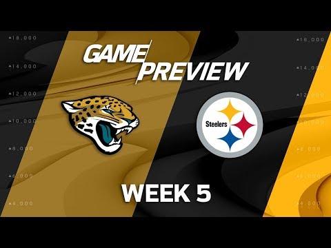 Video: Jacksonville Jaguars vs. Pittsburgh Steelers | Week 5 Game Preview | NFL