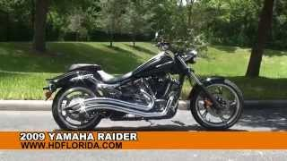 8. Used 2009 Yamaha Raider Motorcycles for sale Tampa FL