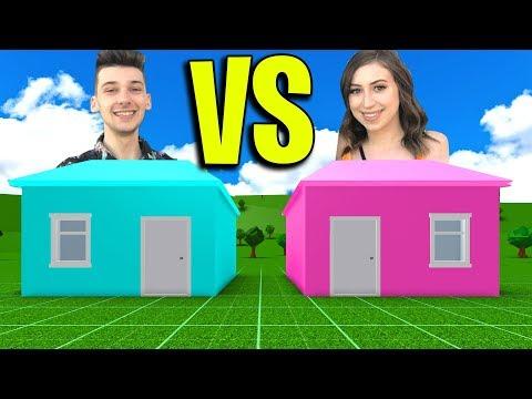 ROBLOX BOYFRIEND VS GIRLFRIEND CHALLENGE! *BUILD OFF*