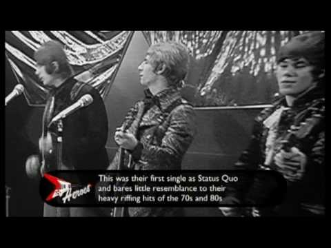 STATUS QUO - Pictures Of Matchstick Men  (1968 UK TV Appearance) ~ HIGH QUALITY HQ ~