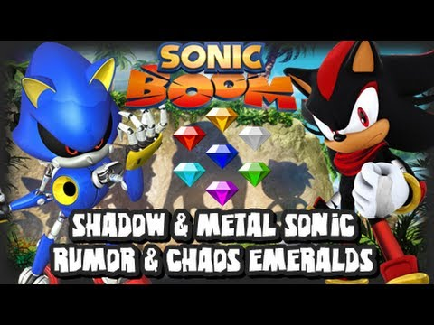 info - It's time for another Sonic Boom News Update! :D In this vid we talk about the Shadow the Hedgehog & Metal Sonic Rumor from IMDB and how BigRedButton gave some clarification on the Chaos Emeralds...