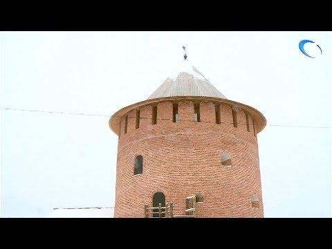 Новгородский музей-заповедник представил новый музейный объект – «Белая башня»