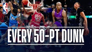 Every 50-Point Dunk In NBA Dunk Contest History (1984-2019)!
