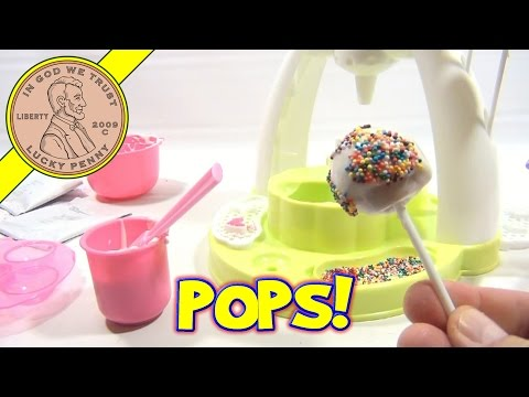 pop - Get This Item From the Lucky Penny Shop! http://www.luckypennyshop.com/cake-pop-maker.htm [Key points in this video]: Instructions: 0:39 Assembly: 0:56 Mixin...