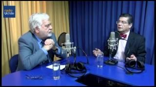 Juan Pablo Cárdenas conversa con Luis Riveros Cornejo