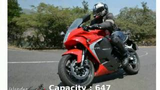 8. Hyosung GT 650R Info and Specification