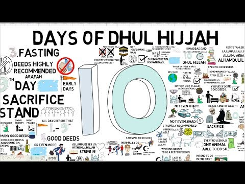TAKING ADVANTAGE OF DHUL HIJJAH - Tim Humble Animated