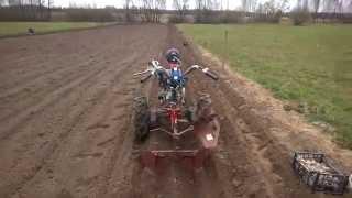 Посадка картошки мотоблоком МоторСич и КК-3