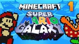 SUPER MARIO GALAXY MAP [1] ★ Minecraft Puzzle Adventure