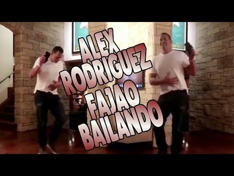 "Así mueve Alex Rodriguez el ""esqueleto"""