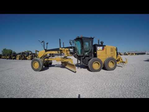 CATERPILLAR MOTOR GRADERS 12M2AWDT equipment video wHraRRA6A9c