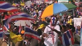 Machtkampf In Thailand Parlament Aufgelöst Proteste Gehen Weiter