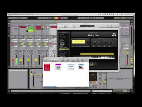 Ableton Live Tutorial How to use Logic Pro Mainstage as a plugin via Soundflower