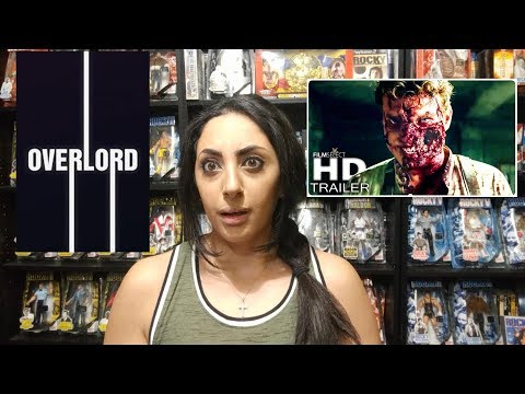 Overlord (2018) Official Trailer REACTION & REVIEW!!