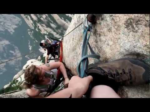 史上最可怕的攀岩地點!