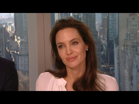 Video 'Unbroken' Cast Reveals What It's Like to Have Angelina Jolie as a Boss download in MP3, 3GP, MP4, WEBM, AVI, FLV February 2017