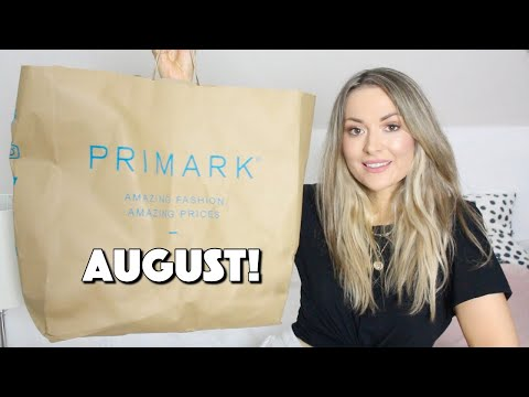 NEW IN PRIMARK HAUL AUGUST 2020 TRY ON!!