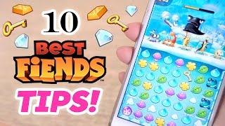 10 MOST USEFUL Best Fiends Tips!!! (NOT Sponsored!)