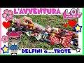 """L'AVVENTURA LOL SURPRISE: DELFINI e....""""TROTE"""" a Zoomarine! Puntata 4 By LAra e Babou"""
