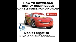 Nonton (247mb)How to Download Cars 2 Highly Compressed For Android Film Subtitle Indonesia Streaming Movie Download