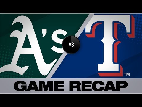 Video: Manaea's gem leads A's in sweep of Rangers | Athletics-Rangers Game Highlights 9/15/19