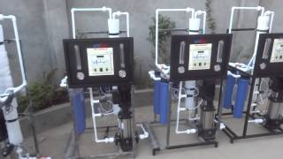 Copy of Industrial 100 LPH Plant - YouTube