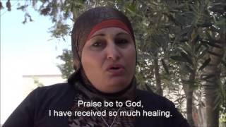 Arab woman praises God for Circlework