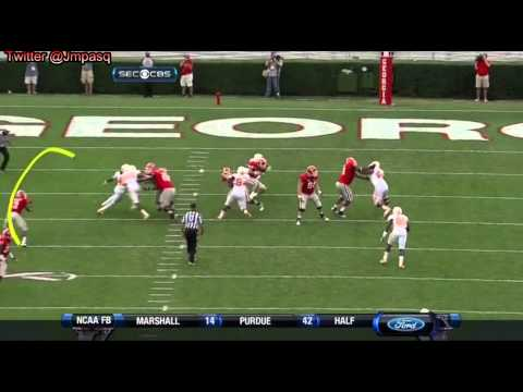 Aaron Murray vs Tennessee 2012 video.