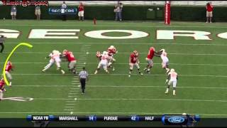 Aaron Murray vs Tennessee (2012)