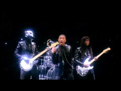 Daft Punk - Pharrell iTunes Ad