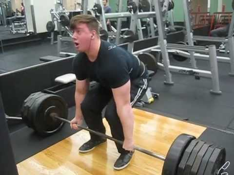 585 Raw Deadlift for 2 Reps