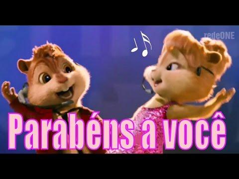 Imagens de feliz aniversário - - Alvin e os Esquilos - Chipmunks - Parabéns pra você - Feliz Aniversário  -