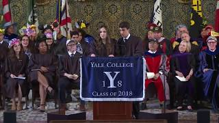 Video Yale Graduation Speaker Breaks Up with Boyfriend During Speech | Rebecca Shaw and Ben Kronengold MP3, 3GP, MP4, WEBM, AVI, FLV September 2018