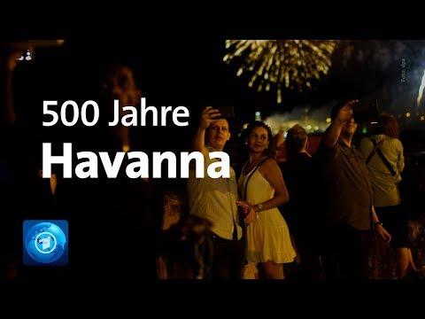 Kuba: Feier zum 500. Jahrestag der Gründung Havannas
