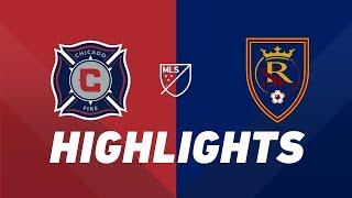 Chicago Fire vs. Real Salt Lake   HIGHLIGHTS - June 22, 2019 by Major League Soccer