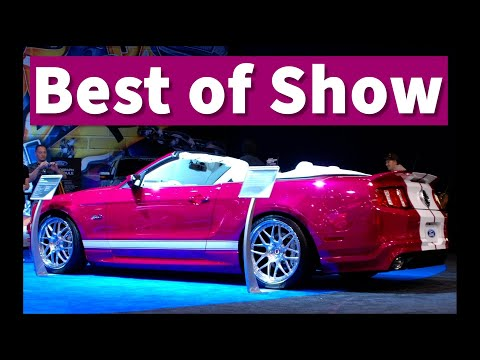 Creations n' Chrome Spray on Chrome Pony Girl 5.0 Mustang at SEMA 2010