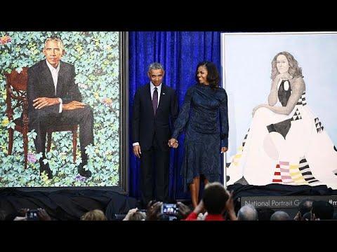 Οι Ομπάμα έγιναν πορτραίτα!